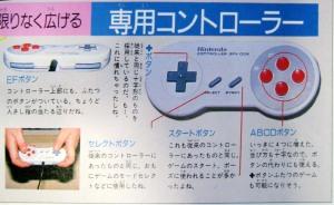 Control Super Famicom - Diseño Preliminar