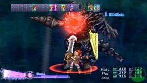 Lo unico destacable del juego: Flay y su Megazord