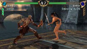 Kratos contra las Amazonas Guerreras de Sauron PQ-87