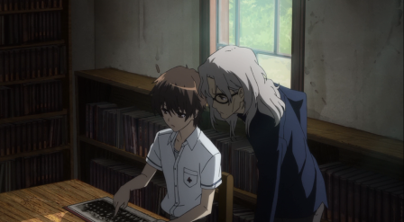 En su busqueda por descubir la trama de esta serie Sakakibara le pide ayuda a Cecil