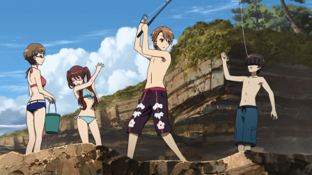 Este anime no podía acabar sin su episodio playero