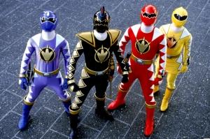 Cuatro de los protagonistas de Dino Trueno y solo falta uno en esta imagen