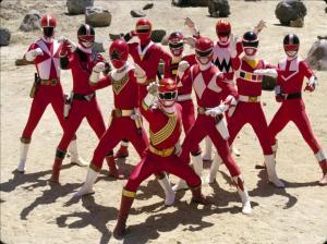 Todos los Power Rangers Rojos juntos en un gran episodio especial