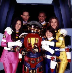 Los protagonistas de Power Rangers Turbo y Alpha