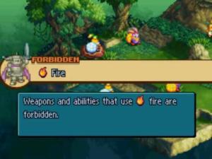 Nota: Todos los enemigos son debiles al Fuego