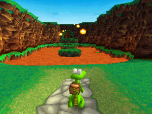 Yoshi con mochila: El juego