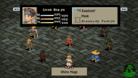 El clásico sistema de Jobs de Final Fantasy hace de este juego algo único