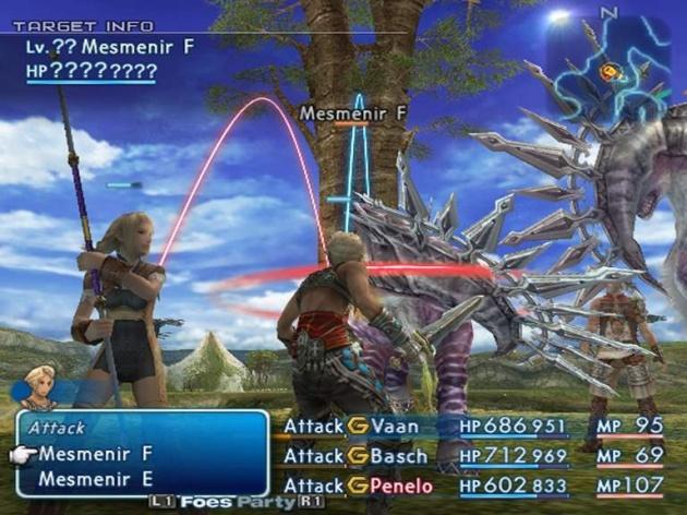 El sistema de combate de FFXII es un cambio ultra radical para la serie.