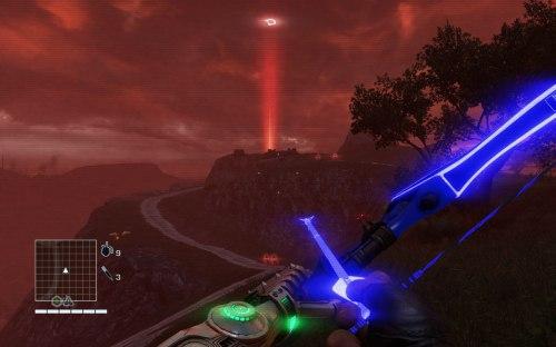 Las ultra futuristas Flechas del Futuro... solo son flechas con luces neón