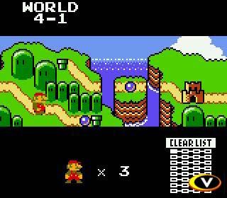 El Super Mario Bros original ahora con un mapa.