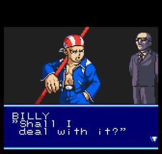 La trama se narra con unos interesantes Cut-Scenes bien logrados para una consola portátil de los 90's