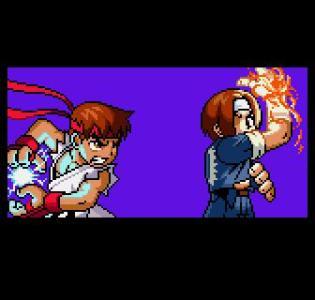 Los de SNK le pusieron mucho empeño al juego para que fuera una maravilla, ni en el Gameboy Color veías artworks tan detallados y coloridos como estos.