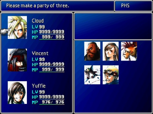 ffvii-party-screen