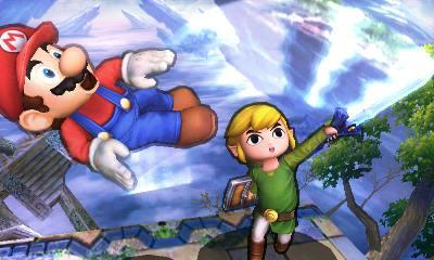 La versión de 3DS da la opción de ponerle un contorno a los personajes para no perderte.