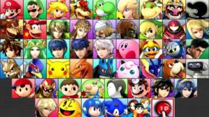 La pantalla de selección para 3DS es diferente a la de otras entregas.
