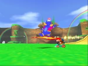 Banjo hizo su aparición en este juego antes de recibir el suyo