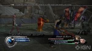 El Sistema de Combate de Final Fantasy XIII pero con unos ligeros cambios