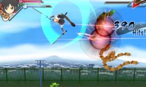 Puedes realizar combos aeros mientras peleas con tus enemigos