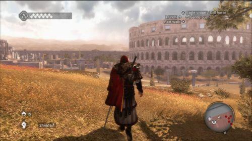 Imposible hacer un juego en Roma sin incluir el Coliseo Romano