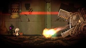 El juego cuenta con algunos Bosses... y el problema es que no posees alguna arma o poder para defenderte