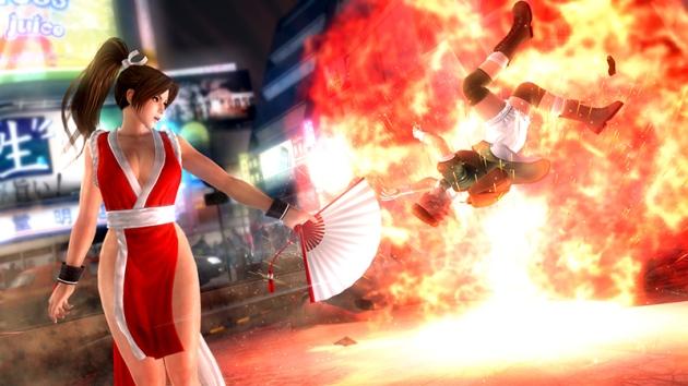 No es broma, la mismisima Mai Shiranui de Fatal Fury y The King of Fighters hará su aparición en el juego para alegrar a varios chaqueteros