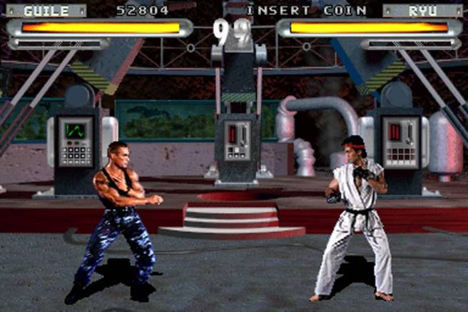 Street Fighter: The Movie: The Game: The Mortal Kombat Rip-off: The Colon Over-Abuse