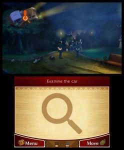 Los gráficos y el sistema de exploración fueron tomados de los juegos de 3DS del Profesor Layton
