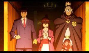 Algunas escenas son narradas usando unos cinemas de Anime hechos por el estudio Bones