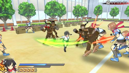 El mismo matadero de enemigos sin sentido pero ahora en 3D!!!
