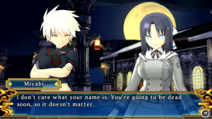 La Historia del juego se sigue manejando como una Visual Novel