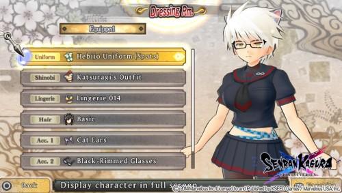 Como en el juego de 3DS es posible cambiar el atuendo y accesorios de las chicas